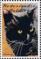 Netherlands Antilles 2003 Cats a