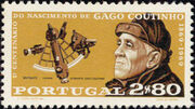 Portugal 1969 100th Anniversary of the birth of Admiral Gago Coutinho b