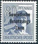 Russian Zone 1948 Overprint - Sowjetische Besatzungs Zone p