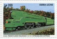 Sierra Leone 1995 Railways of the World ia