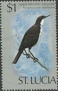 St Lucia 1976 Birds m