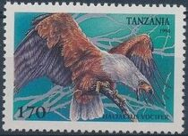 Tanzania 1994 Birds of Prey e