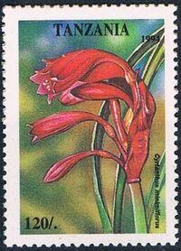 Tanzania 1995 Wild Flowers c