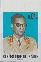 Zaire 1973 President Joseph Desiré Mobutu g