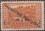 Albania 1925 Views of Cities Overprinted a