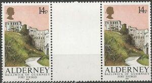 Alderney 1986 Alderney Forts GPb