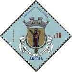 Angola 1963 Coat of Arms - (1st Serie) b
