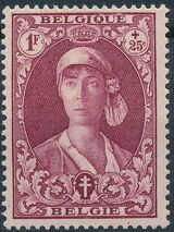 Belgium 1931 Queen Elisabeth e