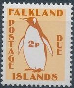Falkland Islands 1991 Penguins (Postage Due Stamps) b