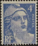 France 1945 Marianne de Gandon (1st Group) e