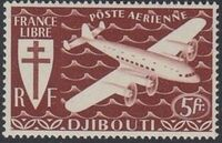 French Somali Coast 1941 Airmail c