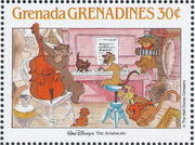 Grenada Grenadines 1988 The Disney Animal Stories in Postage Stamps 6g