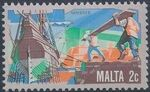 Malta 1981 History of Maltese Industry c