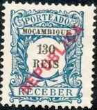 Mozambique 1916 Postage Stamps from 1904 Overprinted REPUBLICA h