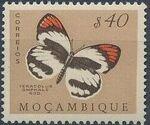 Mozambique 1953 Butterflies and Moths e