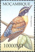 Mozambique 2002 Birds of Africa d