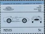 Nevis 1985 Leaders of the World - Auto 100 (3rd Group) k