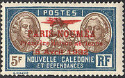 New Caledonia 1933 Definitives of 1928 Overprinted x