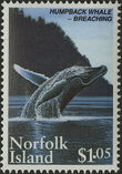 Norfolk Island 1995 Humpback Whale Conservation c