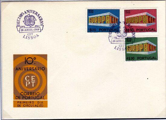 Portugal 1969 Europa d