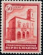 San Marino 1932 Opening of New General Post Office b