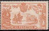 Spain 1905 Don Quixote Issue j