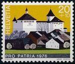 Switzerland 1976 PRO PATRIA - Castles a