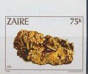 Zaire 1983 Minerals n