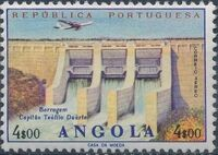 Angola 1965 Various Works and Airplane d