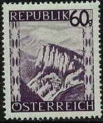 Austria 1945 Landscapes (I) j