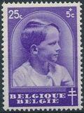 Belgium 1936 National Anti-Tuberculosis Society - Prince Boudewijn b