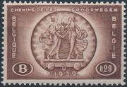 Belgium 1939 International Railroad Congress a