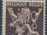 Belgium 1944 Heraldic Lion