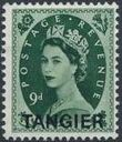 British Offices in Tangier 1957 Centenary Overprint (1857-1957) l