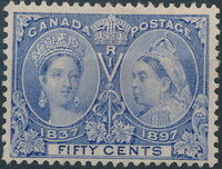 Canada 1897 60th Year of Queen Victoria's Reign k