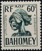 Dahomey 1941 Carved Mask g