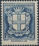 France 1941 Coat of Arms (Semi-Postal Stamps) g