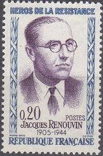France 1961 Resistance Heroes (V) a