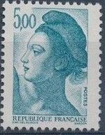 France 1982 Liberty after Delacroix (1st Issue) m