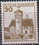 Germany, Federal Republic 1977 Strongholds and Castles b