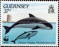 Guernsey 1990 WWF Marine Life d