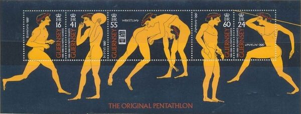Guernsey 1996 Centenary of the Modern Olympic Games p