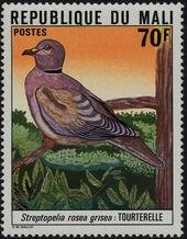 Mali 1978 Mali Birds (2nd Group) d