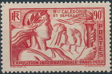 New Caledonia 1937 Paris International Exposition e