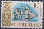 Norfolk Island 1967 Ships - Definitives (2nd Issue) h