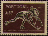 Portugal 1952 8th World Championship Hockey-on-Skates b