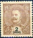 Portuguese India 1903 D. Carlos I - New Colours and Values h