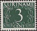 Surinam 1948 Numerals e