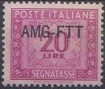 Trieste-Zone A 1949 Postage Due Stamps of Italy 1947-1954 Overprinted e
