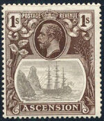 Ascension 1924 Seal of the Colony j